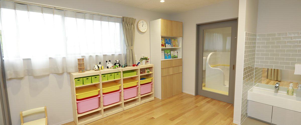 病児保育室フローレンス初台の安静室